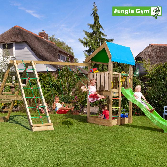 Jungle Gym Home legetårn m/klatremodul
