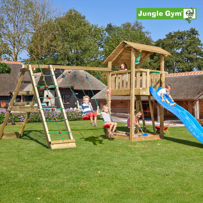 Jungle Gym Shelter m/klatremodul