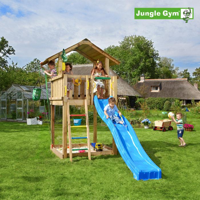 Jungle Gym Chalet m/rutsjebane
