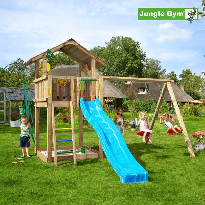 Jungle Gym Chalet m/gyngemodul