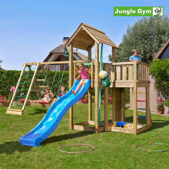 Jungle Gym Mansion m/klatremodul