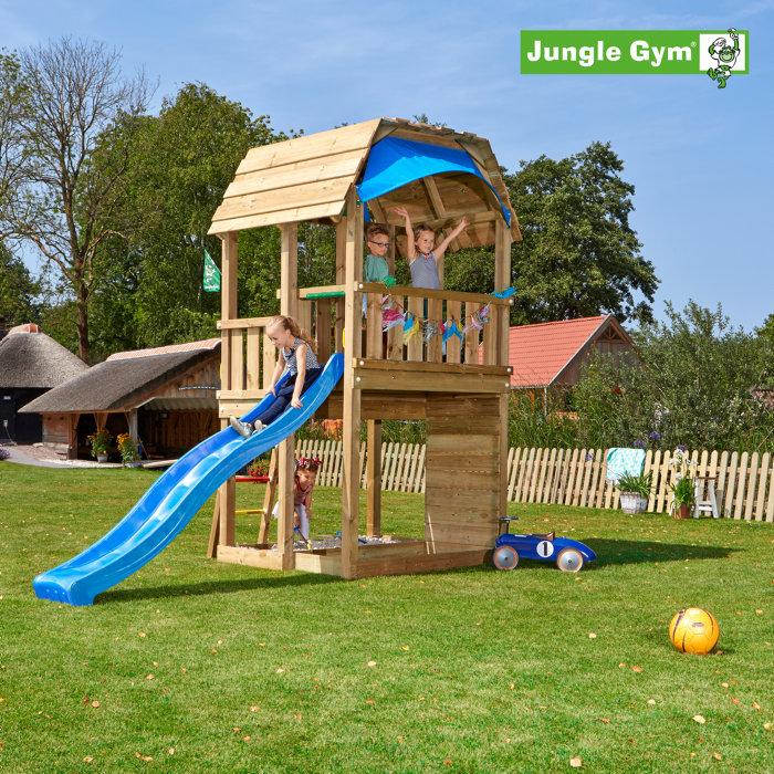 Jungle Gym Barn m/rutsjebane