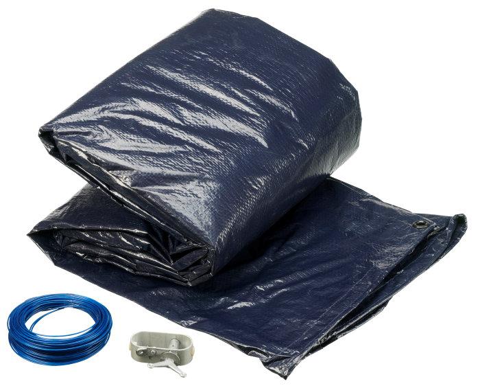 Poolcover vinter 7,3 x 3,75 m - Swim & Fun