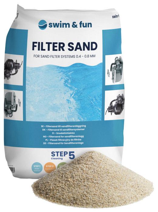 Filtersand 18 kg - Swim & Fun