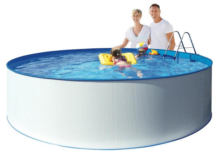 Kreta stålpool 13500 liter - Swim & Fun