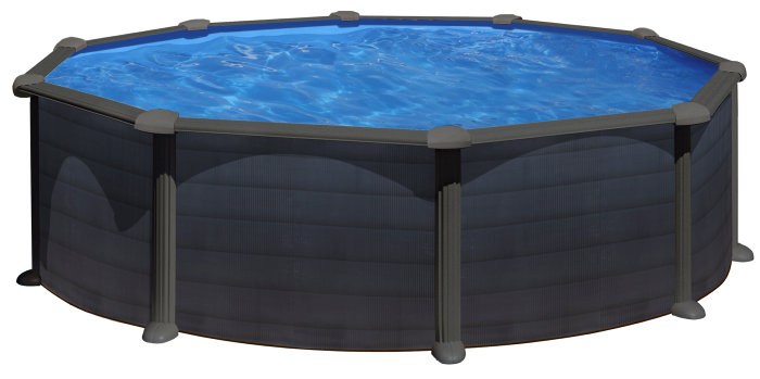 Stålpool 17450 liter - Swim & Fun