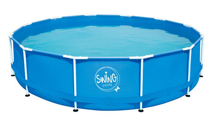 Swing Pool 16786 liter Ø4,57 meter - Swim & Fun