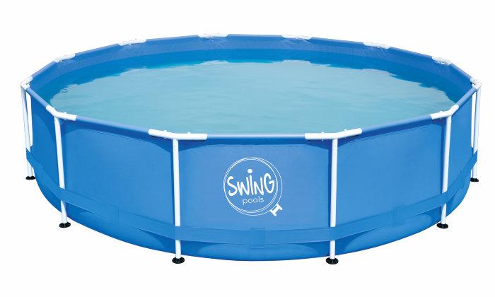 Basseng 16786 liter Ø4,57 meter - Swim & Fun