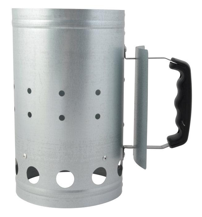 Grillstarter i zinkgalvaniseret stål