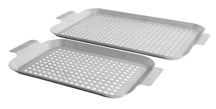 Grillfade 2 stk. medium og stor - Grillexpert