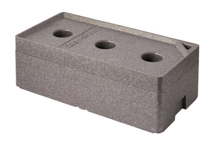 Selvvandingskasse - grå - 79,6 x 39,8 x 29 cm