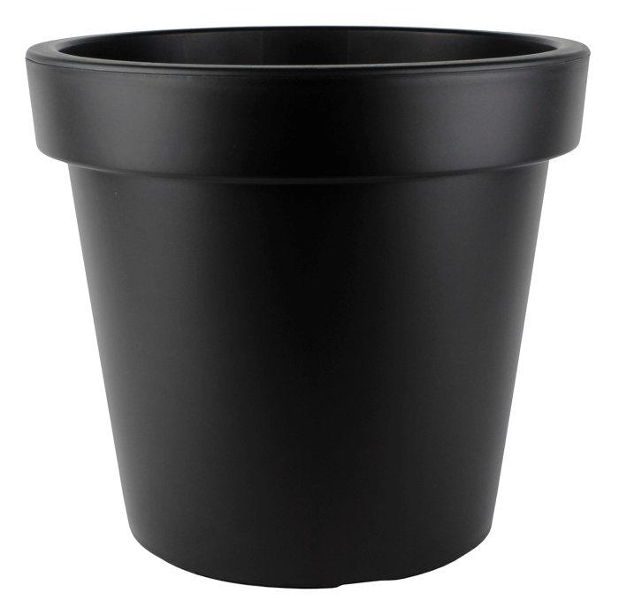 Plastkrukke grå