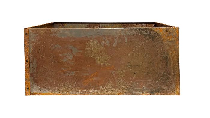 Høybed i råjern 80 x 40 x 40 cm