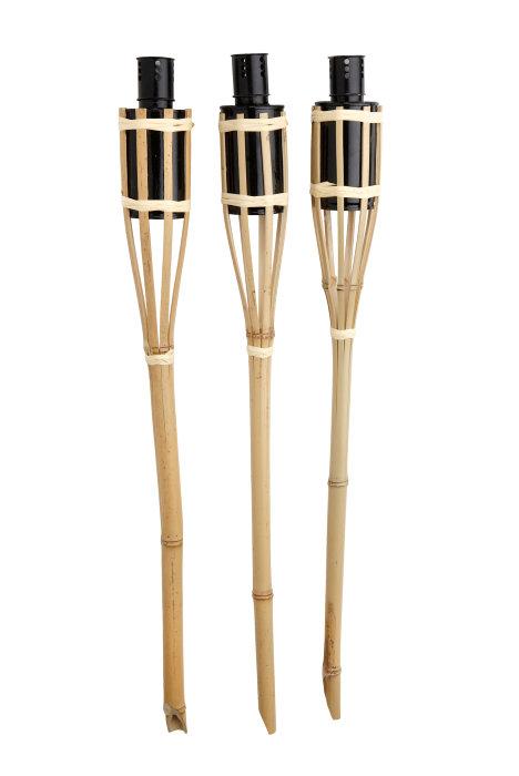 Bambusfakkel 3 stk.