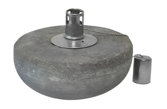 Olielampe i beton Ø13 x H11 cm