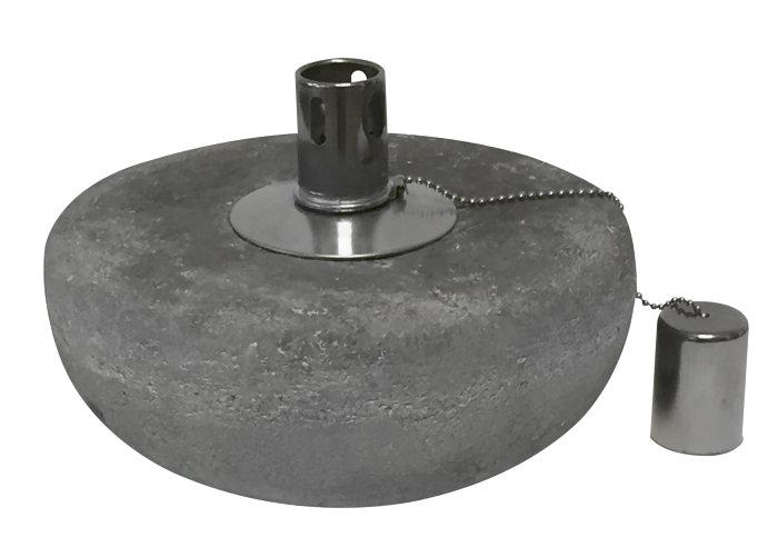 Oljelampe i betong - stor