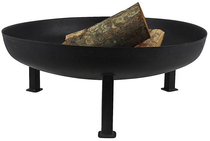 Bålfad i støbejern på ben Ø66 cm