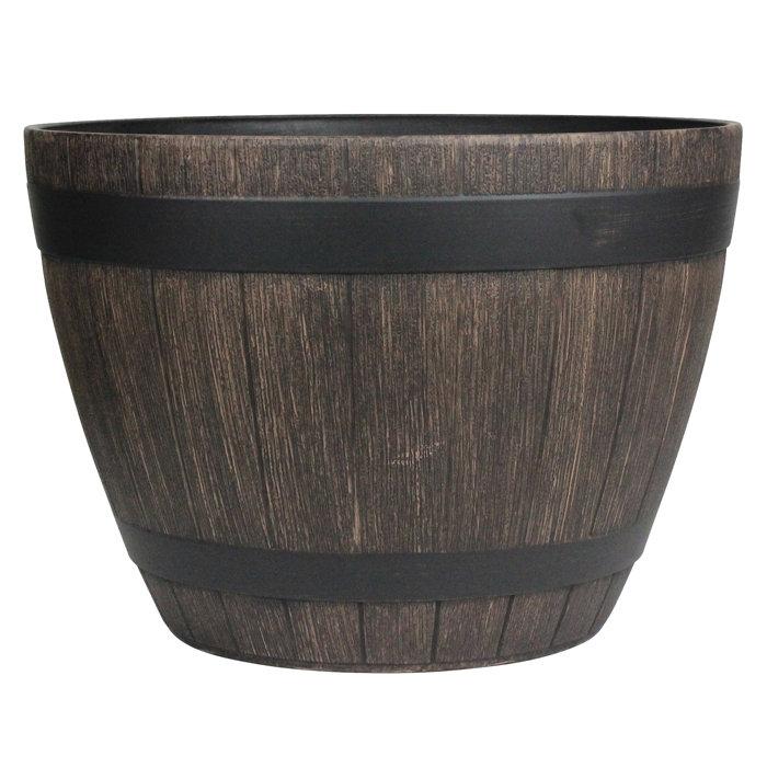 Whiskytønne i trelook