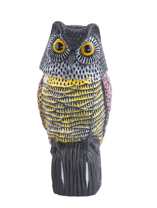 Fugleskremsel ugle - 20 x 18 x 39 cm