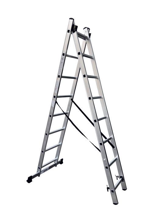 Combistige i aluminium 3,6 meter