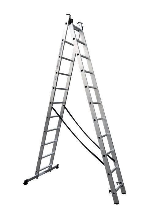 Combistige i aluminium 5,3 meter