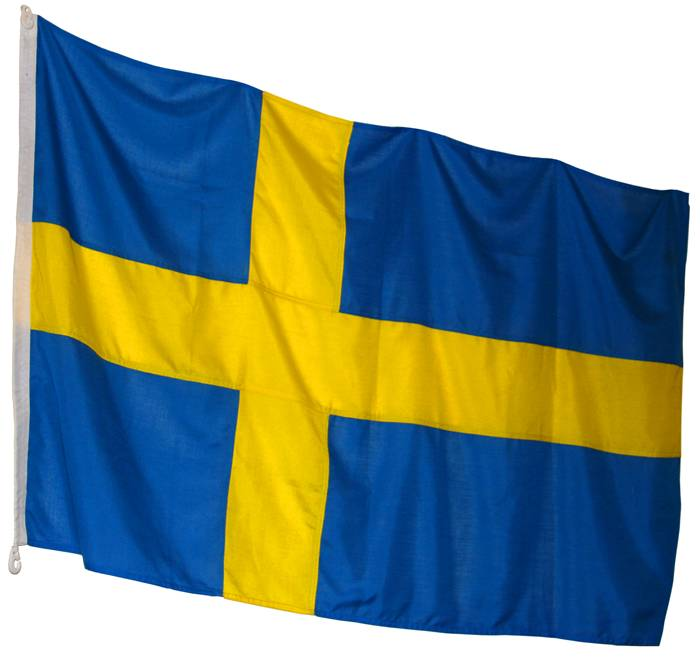 Flagga 200 x 125 cm