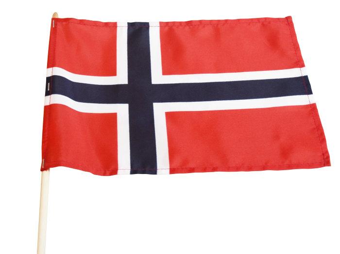 17.mai flagg 20 x 28 cm