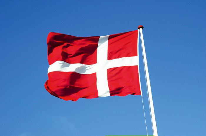 Dannebrogsflag 175 x132 cm