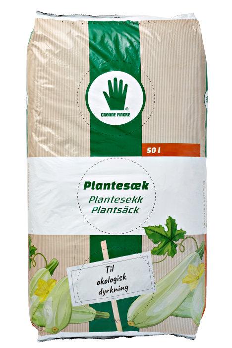 Plantesæk til øko-dyrkning 50 liter - Garden