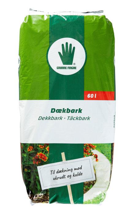 Dækbark 60 liter - Grønne Fingre