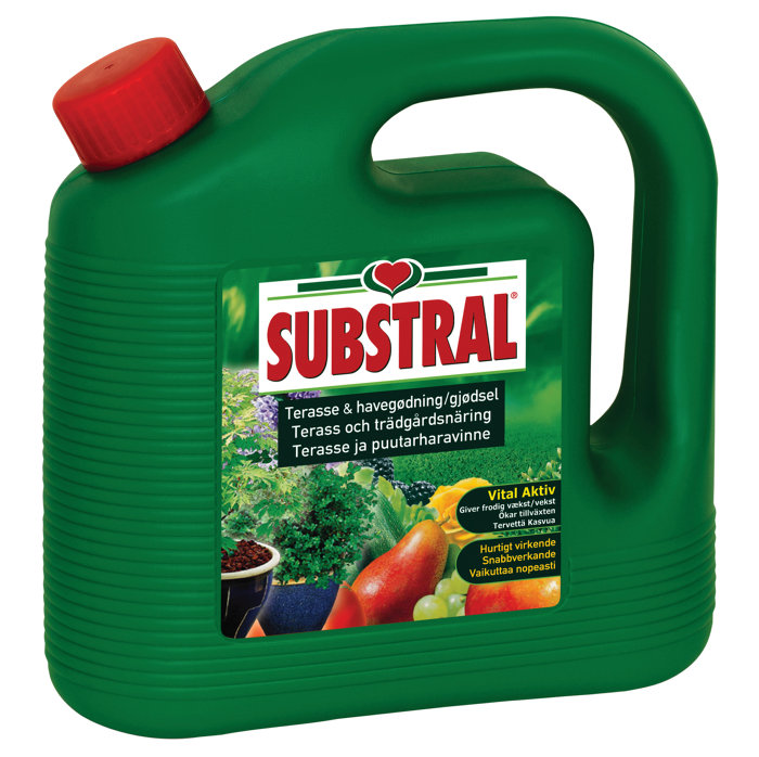 Substral terrasse- og havegødning 2 liter