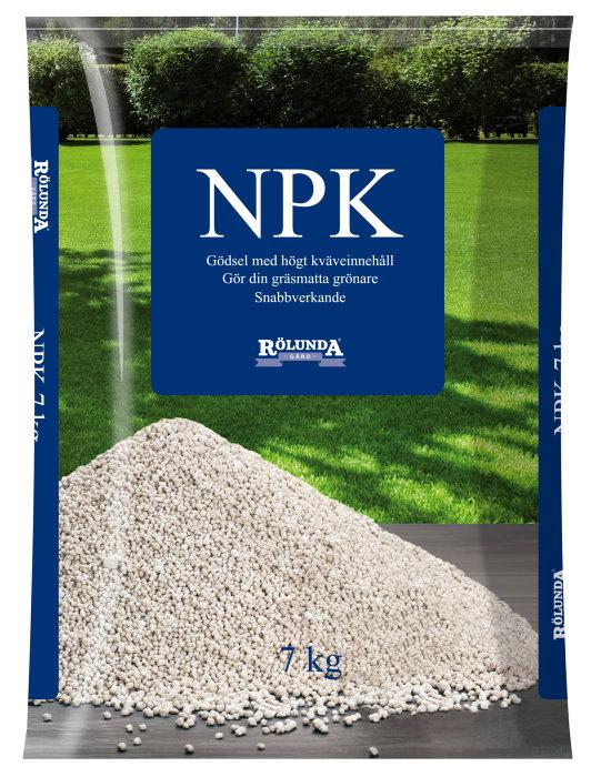 Trädgårdsgödsel NPK 7 kg