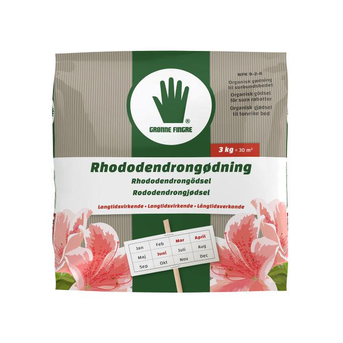 Grønne Fingre rhododendrongjødsel 3 kg