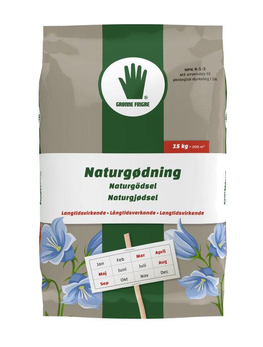 Grønne Fingre naturgødning 15 kg