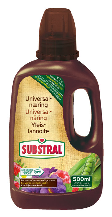 Substral ThinkEco universalnæring 500 ml