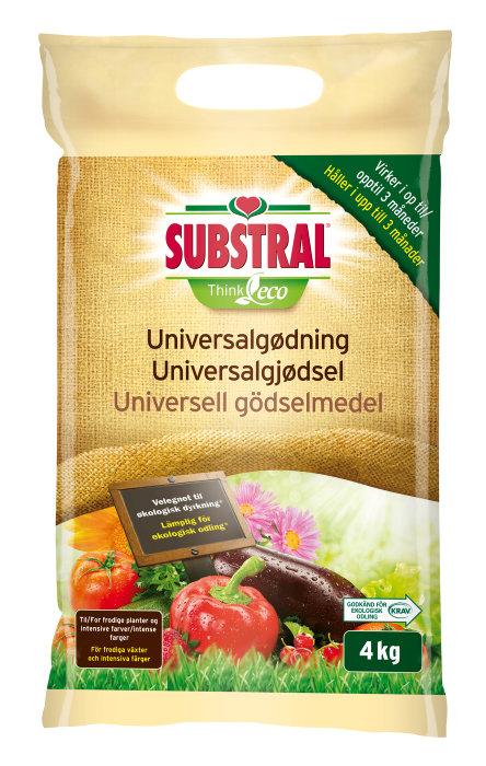 Substral ThinkEco universalgødning 4 kg