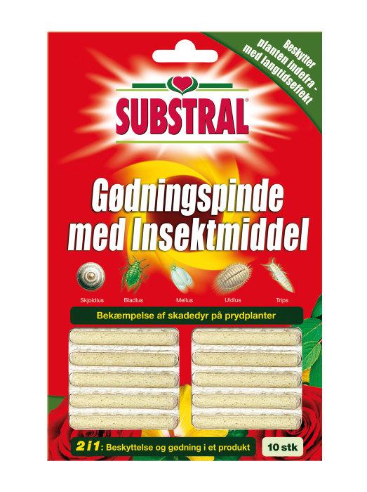 Substral gødningspinde 2-i-1 – 10 stk.