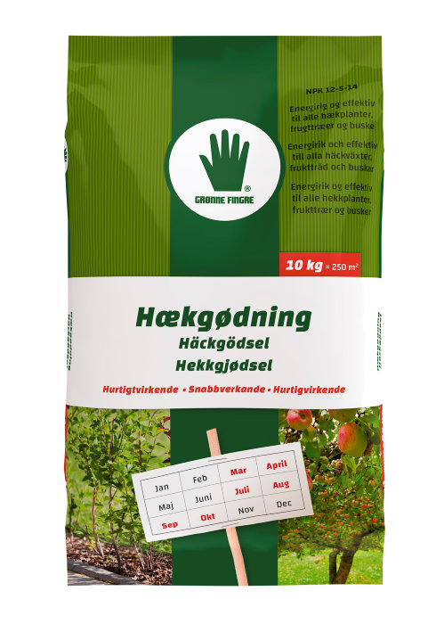 Grønne Fingre hækgødning 10 kg