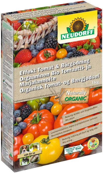 Tomat- och bärgödning 1 kg