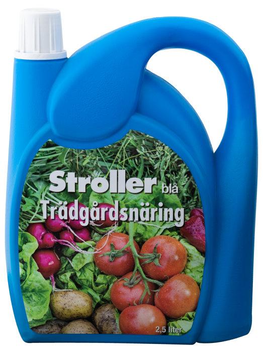 Trädgårdsnäring Stroller Blå 2,5 L