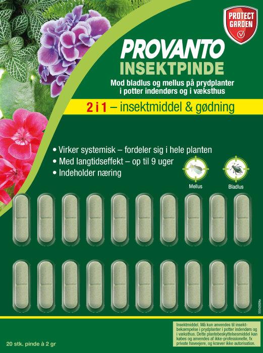Provanto insektpinde 20 stk. - Protect Garden