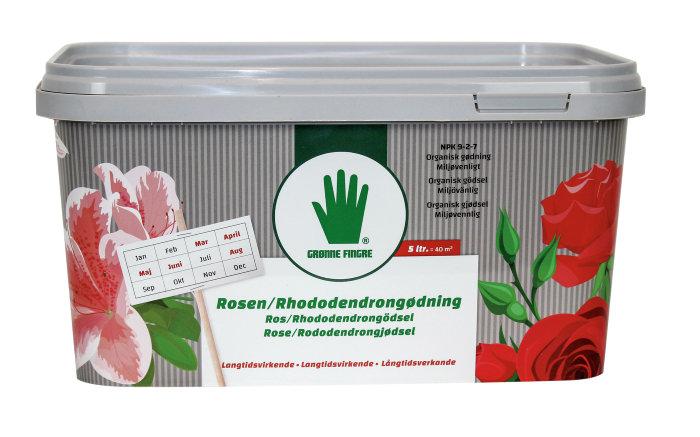 Grønne Fingre rosen/rhododendron gødning 5 liter