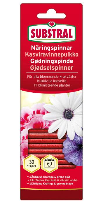 Substral gødningspinde blomster 30 stk.