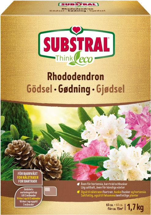 Rhododendrongödsel 1,7 kg