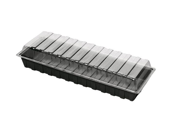 Minidrivhus 60 x 22 cm - Vefi
