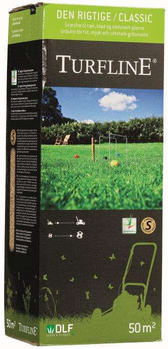 """Turfline """"Den rigtige"""" græsfrø 1 kg"""