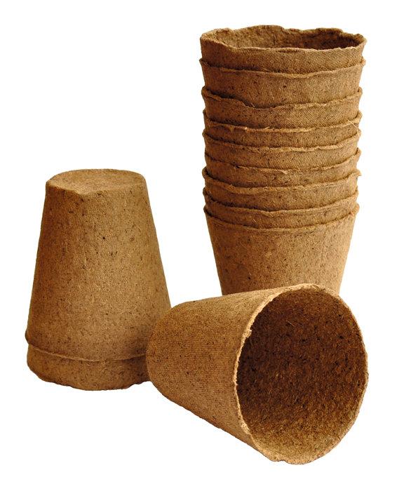 Sphagnumpotter runde 8 cm 12 stk.