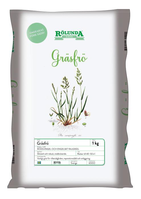 Gräsfrö Rölunda 1 kg