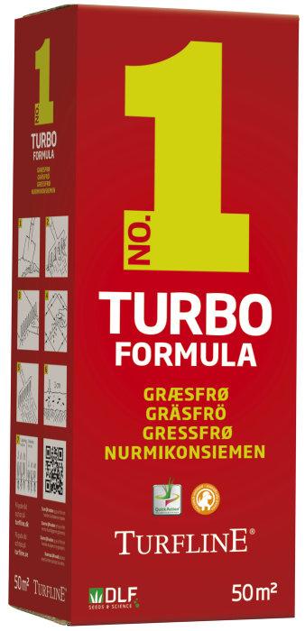 Turfline No. 1 Turbo Formula græsfrø 1 kg