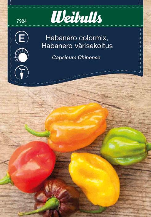 Habanero chili colormix